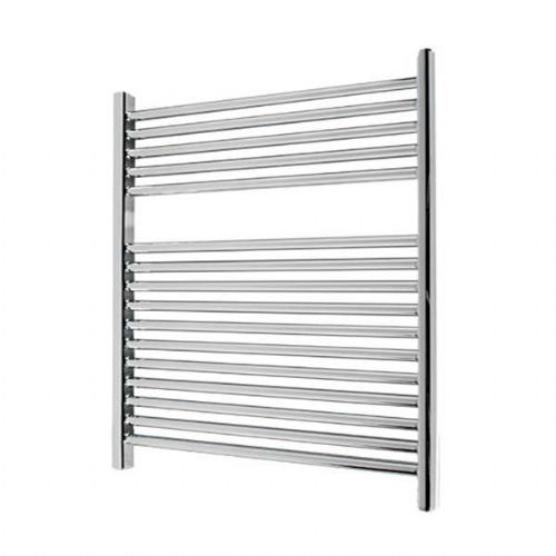 Abacus Elegance Linea Straight Towel Rail - 750mm x 600mm - Chrome